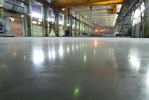 Увеличение прочности бетонного пола