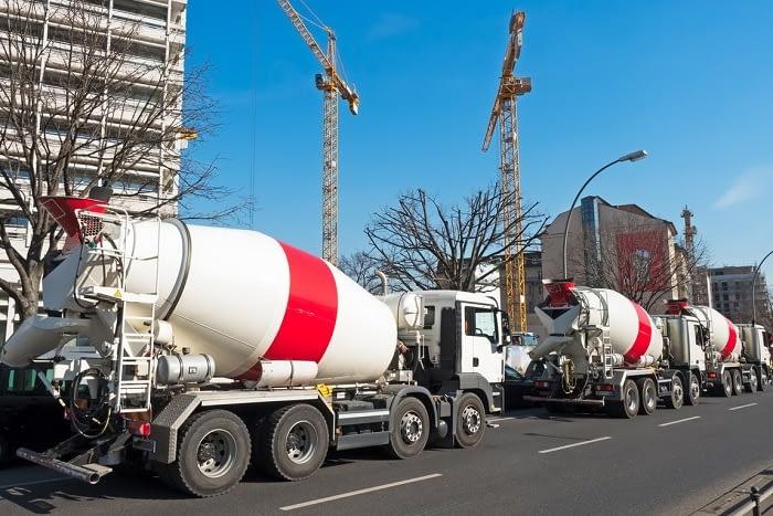 Как перевозят бетонную смесь бетон b25 теплопроводность