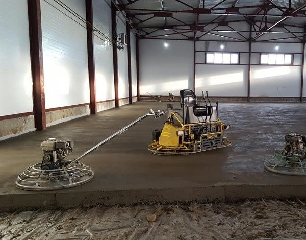 увеличение прочности пола из бетона