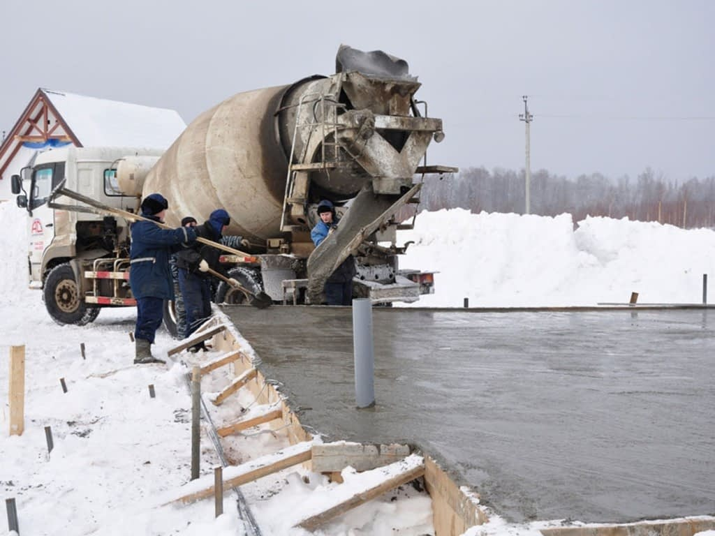 бетон зимний цена