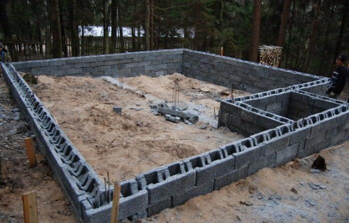 характеристики опалубки из бетона